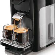 Philips HD7863/60 Senseo Quadrante Kaffeepadmaschine (Senseo Kaffeebrühsystem, 1450 Watt) klavierlack schwarz - 1