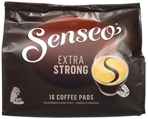 Senseo Extra Strong, 16 Kaffee Pads, 5er Pack