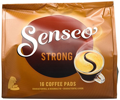 Senseo Strong, 16 Kaffee Pads, 10er Pack